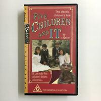 Five Children And It. VHS Video Tape BBC Classics E. Nesbit 1992 ABC Kids TV