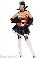 Sexy QUEEN OF BROKEN HEARTS Secret Wishes Costume #888646 Women's Medium 10-12