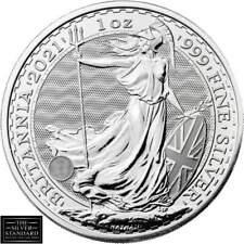 2021 1oz Silver Britannia Bullion Coin unc: **Fast Dispatch | UK BASED**