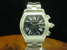 Cartier Roadster Chronograph Edelstahl Automatic Herrenuhr / Ref 2618