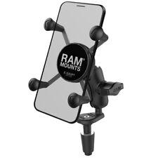 RAM-B-176-A-UN7U RAM X-Grip Phone Holder with Motorcycle Fork Stem Base