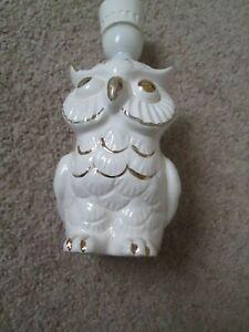 China Owl light (needs wiring )