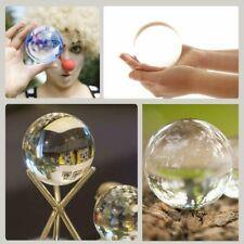 80 mm Glaskugel klar, Natürlich Glaskugeln, Kristallkugeln klein Lufteinschlüsse