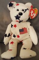 "NEW TY Beanie Baby - ""Glory"" The Bear - 1997 - Retired With Errors"
