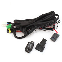 LED Fog Light Lamp DRL H11 Switch Wiring For Toyota Holden Mitsubishi Ford Mazda