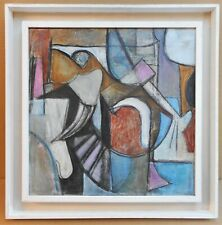 Original Abstract Expressionist Oil by listed artist Jane Pascoe RWA, circa 1980