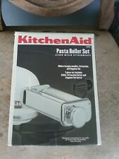 KitchenAid pasta roller set metal kitchen food