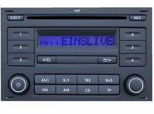 VW RCD 200 MP3 CD ORIGINAL RADIO VW TRANSPORTER T4 T5 POLO GOLF PASSAT