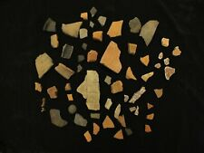 More details for nice collection of ancient roman pot shards sherds mosaic tile plaster villa uk