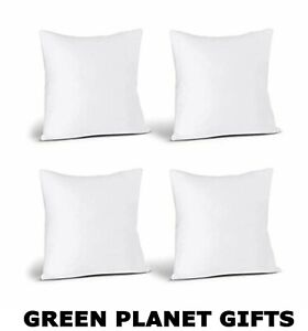 Set of 4x Eco-Friendly Cushion Inners | Various Sizes Available | Free UK P&P