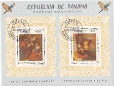 PANAMA BLOC TABLEAU Annee 1968