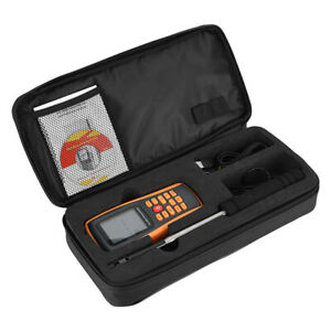 GM8903 New Hot Wire Anemometer Air Wind Flow Meter Thermomter with LCD Display