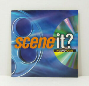 2003 Scene It? The DVD Game Board Game DVD ONLY Replacement Part TESTED WORKS