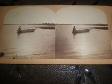 More details for stereoview photograph sunset niagara falls usa by underwood c1890s