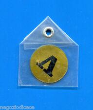 """KICA - Sorprese Decalcomania Figurina-Sticker anni 60 - LETTERA """"V"""" TONDA"""