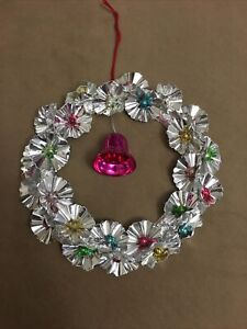 "1940 Foil Wreath 8"""