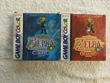 NINTENDO GAME BOY -  ZELDA ORACLE OF AGES & SEASONS (BOXED 1)
