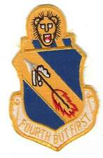 OLD USAF patch - 4th Tactical Fighter Wing - Seymour-Johnson AFB - COLD WAR