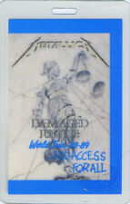 METALLICA 1988-89 Laminated Backstage Pass All Access