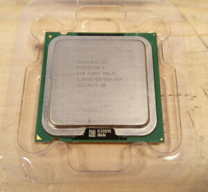 Processeur Intel Pentium D 820 / 2.6Ghz / 2Mo / 800Mhz / Socket LGA775 / SL88T