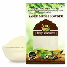 Organic Chlorophytum Borivilianum Safed Musli Powder Ayurveda