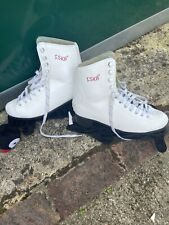 New listing Ice Skates, White, Size 6