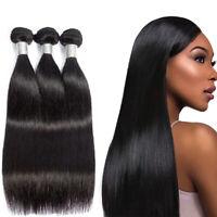 Mink Brazilian Silky Straight Weave Bundles Human Hair Extensions Cheap Price