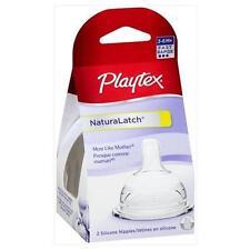 Playtex NaturaLatch Nipple, 2 Pack, Fast Flow