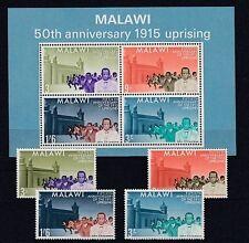 Malawi  29-32 + Block 3  John Chilembwe   **  (mnh)
