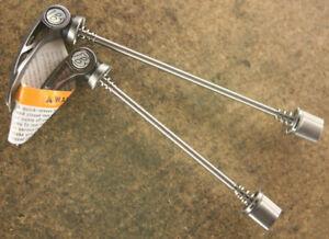 NOS NEW (2) Bontrager RXL Titanium quick release QR levers skewer set hubset