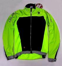 Sportful Fiandre Men's Cycling Winter Jacket Yellow Small