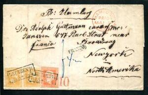 PREUSSEN 1850-1867 FANTASTISCHER ALTBESTAND + BRIEFE(L9231d