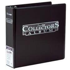 "Lot of 10 Ultra Pro 3"" Collector's Binder Card  Album Black Binders"