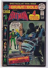"Brave and the Bold #100 [Vol 1] ""The Warrior in a Wheel-Chair"" [March 1972] DC"