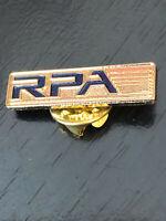 Collectible Vintage RPA Colorful Metal Pin Back Lapel Pin Hat Pin