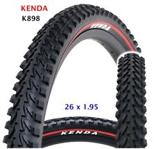KENDA Mountain  MTB Bike Tyre K898 red line, size 26 x 1.95, ETRTO 50-559