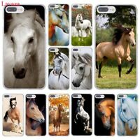 For iPhone XS Max XR 8 Plus 6 6S 5S 5 4S 7 plus X hard case cover pattern Horse