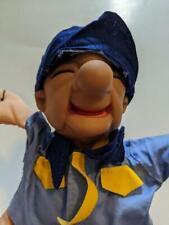 "Vintage Mr. Magoo 13"" Plush Doll In Shirt & Tie w/Cap Soft Body w/ Rubber Head !"
