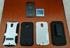 Samsung Galaxy Nexus (SCH-I515) Rear Battery Cover, 3 x Case and Battery Bundle
