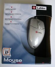 LABTEC WHEEL MOUSE WITH LIGHT And TRACKBALL