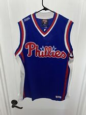 Philadelphia Phillies Basketball Sewn Jersey by Stitches Mens M BRAND NEW