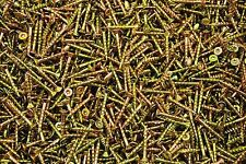 (1000) Torx T20 Star Flat Head 8 x 1-1/4 Yellow Zinc Type 17 Outdoor Wood Screw