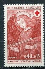 STAMP / TIMBRE FRANCE NEUF LUXE N° 1662 ** CROIX ROUGE L'ANGE AU FOUET