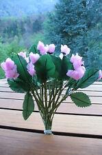 Neuf ! Décoration mariage fête cérémonie ! Bouquet 20 petites fleurs coul. rose