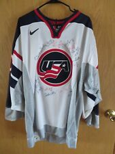 1998 Women's OLYMPIC gold medal ice hockey winners team & COACH signed jersey***
