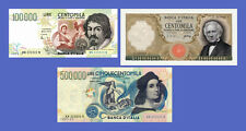 ITALY - Lots of 3 notes - 100000...500000 Lire - Reproductions