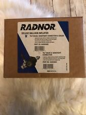 Radnor Balloon Inflator With Handtight Connection Nut And Gauge Cga-580 .New .