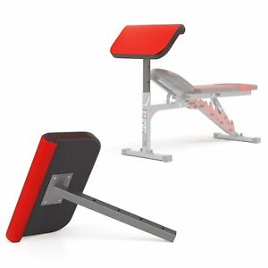 Bicep Preacher Curl Bench Attachment KSSL013 Home Gym Fitness Bodybuilding UK