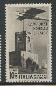 Italy 1934 Football Championship Airmails Sc# C62-65 NH