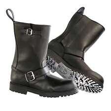 Motorcycle Diora Hawk Custom Waterproof Boots Black Size 11